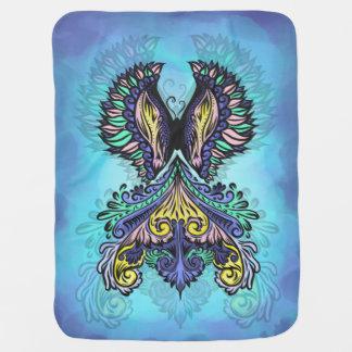 Reborn - Dark, bohemian, spirituality Baby Blanket