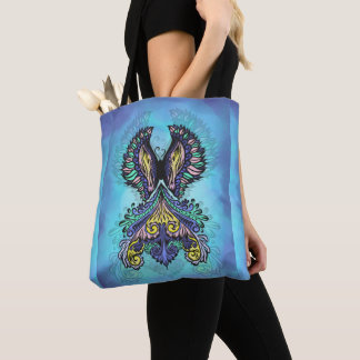 Reborn - Dark, bohemian, spirituality Tote Bag