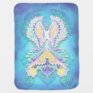 Reborn - Light, bohemian, spirituality Baby Blanket