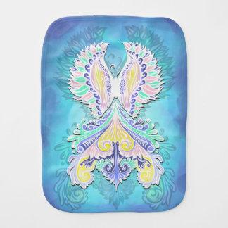 Reborn - Light, bohemian, spirituality Burp Cloth