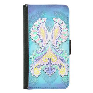Reborn - Light, bohemian, spirituality Samsung Galaxy S5 Wallet Case