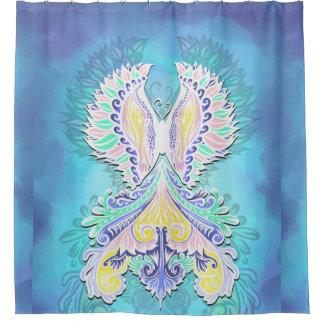 Reborn - Light, bohemian, spirituality Shower Curtain