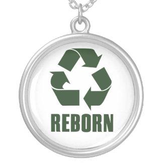Reborn Round Pendant Necklace