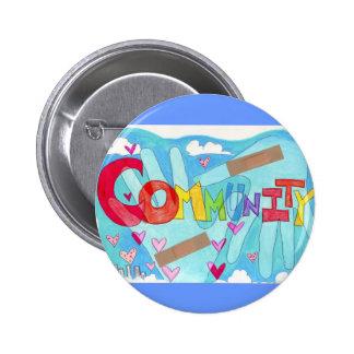 Rebuild Community 6 Cm Round Badge