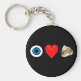 Rebus For Physicists Basic Round Button Key Ring