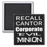 Recall Eric Cantor Koch Oil's Lap Dog Magnet