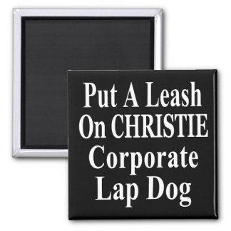 Recall Governor Chris Christie Koch Oil's Minion Square Magnet