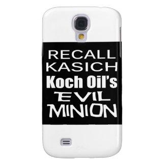 Recall Governor John Kasich Koch Oil s Minion Samsung Galaxy S4 Case