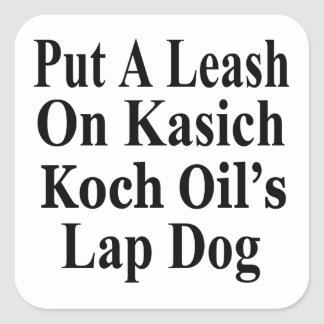 Recall Governor John Kasich Koch Oil s Minion Square Stickers