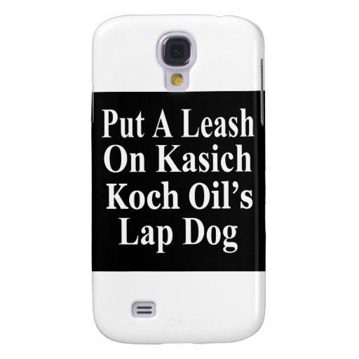 Recall Governor John Kasich Koch Oil's Minion Samsung Galaxy S4 Cover