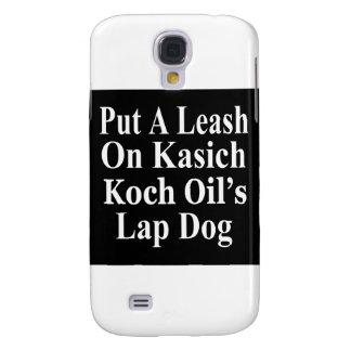 Recall Governor John Kasich Koch Oil's Minion Galaxy S4 Case