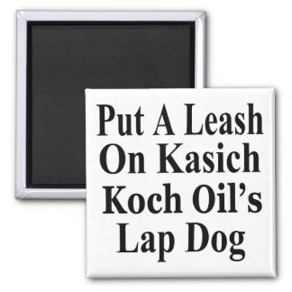 Recall Governor John Kasich Koch Oil's Minion Square Magnet