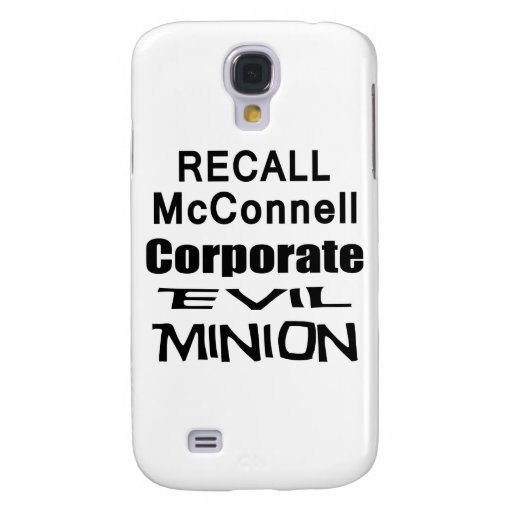 Recall Governor Mitch McConnell Koch Oil's Minion Galaxy S4 Cases
