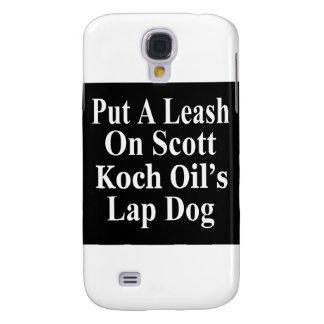 Recall Governor Rick Scott Koch Oil s Evil Minion Galaxy S4 Cover
