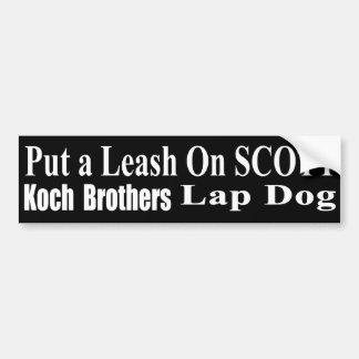 Recall Governor Rick Scott Koch Oil's  Evil Minion Bumper Sticker