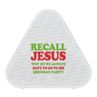 Recall Jesus -- Holiday Humor Speaker
