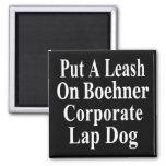 Recall John Boehner Koch Oil's Lap Dog Fridge Magnet