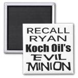 Recall Paul Ryan Koch Oil's Evil Minion Refrigerator Magnet
