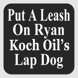 Recall Paul Ryan Koch Oil's Evil Minion Stickers