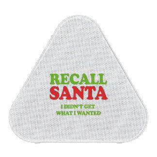 Recall Santa -- Holiday Humor