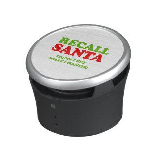 Recall Santa -- Holiday Humor Speaker