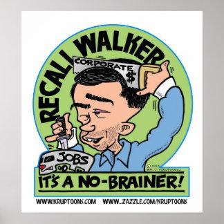 Recall Walker Poster
