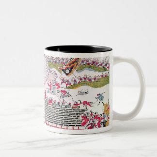Recapture of Bac Ninh Two-Tone Coffee Mug