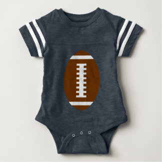 RECEIVE ME• Football Baby Navy+Lime | Back Jersey T-shirts