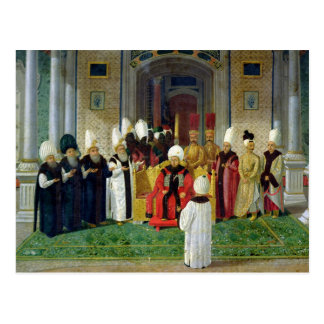 Reception at the Court of the Sultan Selim III Postcard