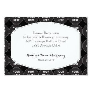 Reception Card wedding template 9 Cm X 13 Cm Invitation Card