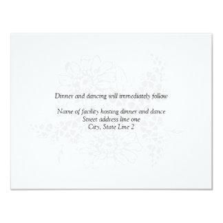 Reception Cards Announcement