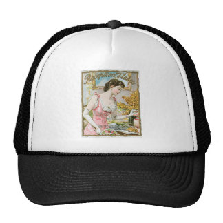 Reception Flakes Vintage Baking Ad Art Hat
