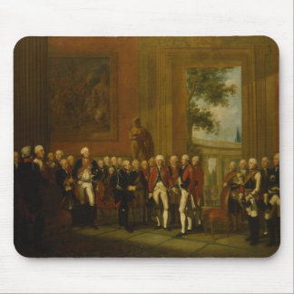 Reception for the Duke of York in Sanssouci Mouse Mat