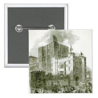 Reception of Queen Elizabeth at Kenilworth 15 Cm Square Badge