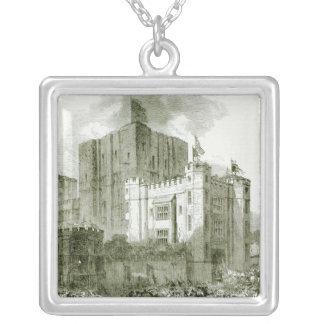 Reception of Queen Elizabeth at Kenilworth Silver Plated Necklace