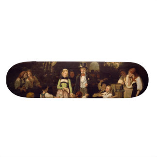 Reception of the Wedding Couple by Theodor Schuz 18.1 Cm Old School Skateboard Deck