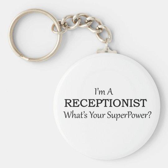 RECEPTIONIST KEY RING