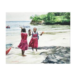 Recess at the Bay 2002 Canvas Print