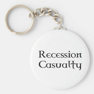 Recession Casualty Keychain