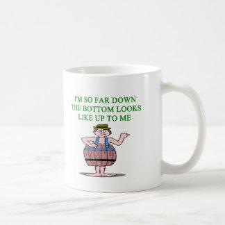 recession depression joke coffee mug