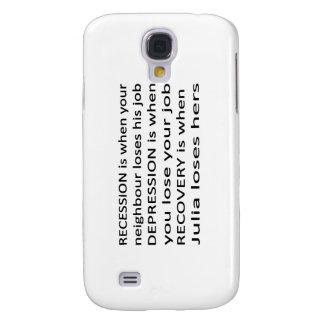 Recession Depression Recovery Samsung Galaxy S4 Case