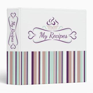 Recipe Binder : Cupcake