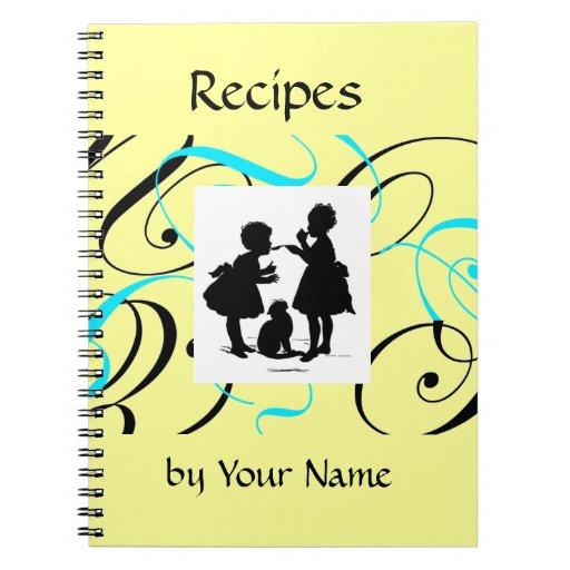 Recipe Book Custom Notebook