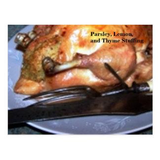 Recipe Card - Parsley, Lemon, Thyme Stuffing