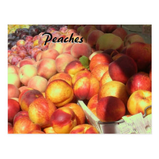 Recipe Card - Peaches
