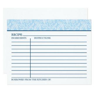 Recipe Card | Something Borrowed Something Blue