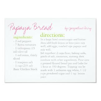 Recipe Card | Your Recipe |piduo