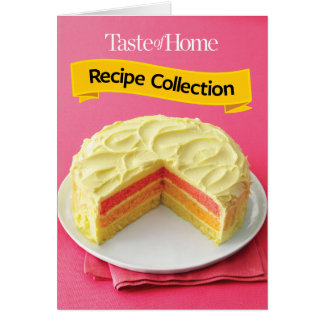 Recipe Collection Card
