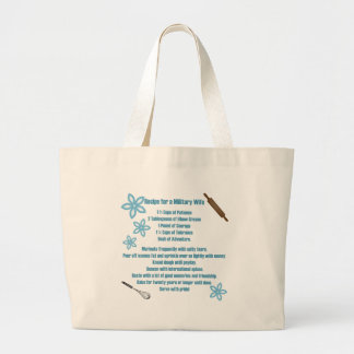 Recipe for a Military Wife Bags