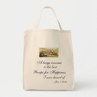 Recipe for Happiness Grocery Tote Grocery Tote Bag